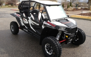 Complete set of all 4 RZR 1000 Flares