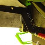 WC 1000 rear flare mounting bracket