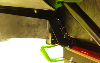 WC 1000 rear flare mounting bracket