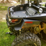 WC trail rear flare with bumper