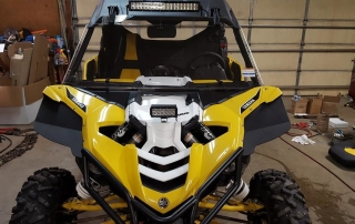 front view yamaha yxz front flares